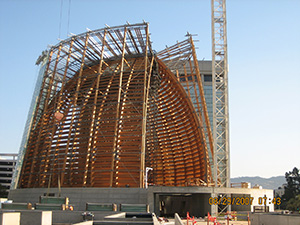 Glulam in Cathedral of Christ the Light