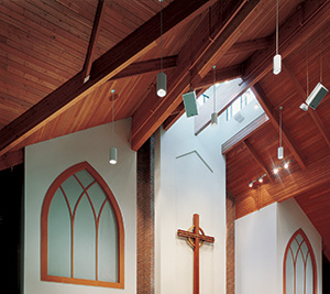 Glulam in St. John's Lutheran Church