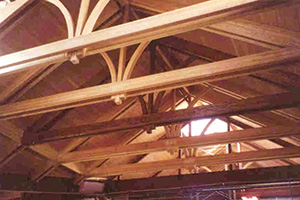 Glulam in St. Teresa of Avila Catholic Church