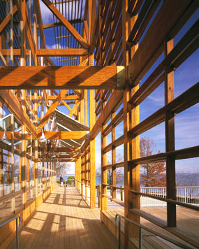 Glulam used in Chesapeake Bay Foundation Headquarters