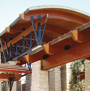 Glulam at Ocotillo
