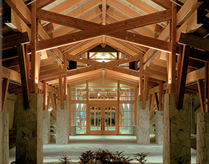 Glulam at Westwood Plateau Golf and Country Club