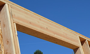 Glulam window header