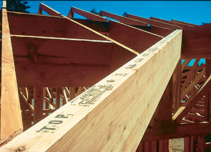 Glulam in residential construction