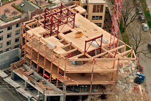 Glulam in Bullitt Center