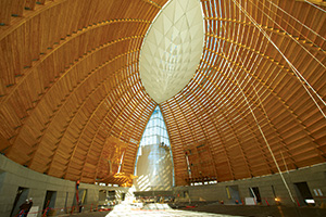 Glulam at Christ The Light church