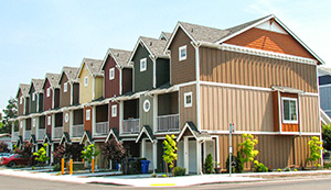 APA Siding in multifamily construction