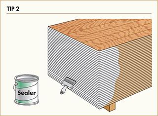 Tip 2: Seal panel edges