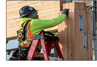Prefabricated connections speed mass timber construction