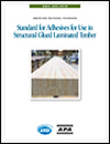 ANSI 405-2018: Standard for Adhesives for Use in Structural Glued Laminated Timber