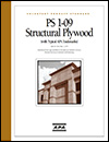 Voluntary Product Standard, PS 1-09, Structural Plywood