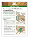 Builder Tips: APA Panels for Soffit Applications