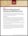 FAQs: Questions About Structural Plywood and OSB Performance