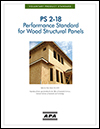 PS 2-18, Performance Standard for Wood Structural Panels
