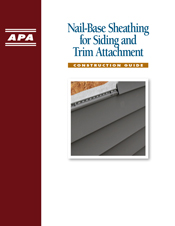 Nail-Base Sheathing for Siding and Trim Attachment