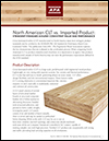 Cross-Laminated Timber—North American CLT vs. Imported Product