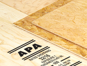 APA panels with trademark