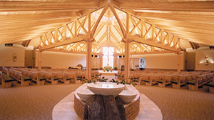 Glulam in St. Joseph Catholic Church