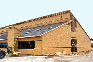 OSB used at Gunter Primary School