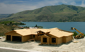OSB roof in residential construction