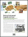 Reducing Environmental Footprints with Wood