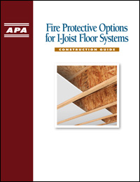 Designing to Meet IRC Fire Protection Provisions for I-Joist Floor Systems