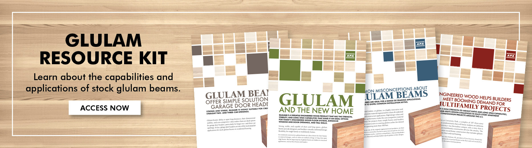Home Products Glulam