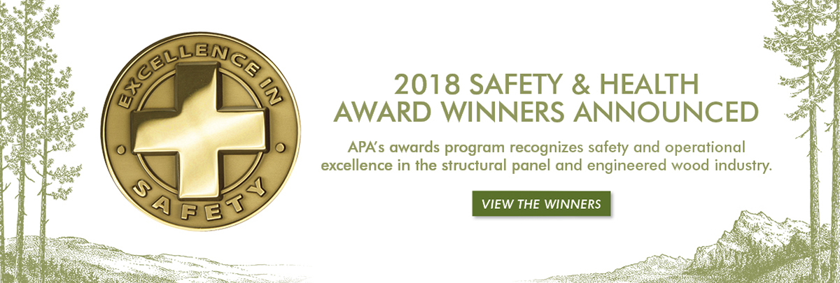 APA Safety and Health Awards
