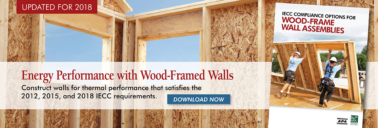 IECC Compliance Options for Wood-Frame Wall Assemblies
