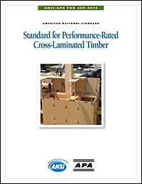 Cross-Laminated Timber (CLT) - APA – The Engineered Wood