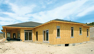 OSB in residential construction