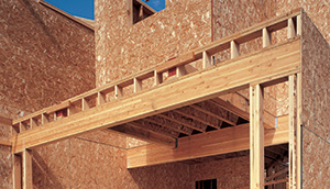 Glulam in garage header