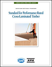 ANSI/APA 320 Standard for Performance-Rated Cross-Laminated Timber