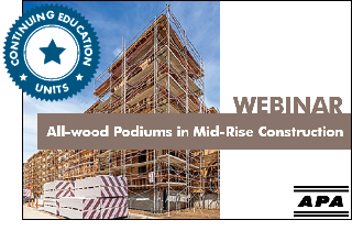 All-Wood Podiums