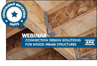 Connection Design Solutions for Wood-Frame Structures
