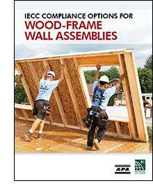 IECC Compliance Options for Wood-Frame Wall Assemblies