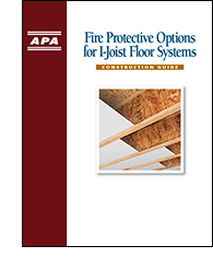 Fire Protective Options for I-Joist Floor Systems, Form R425
